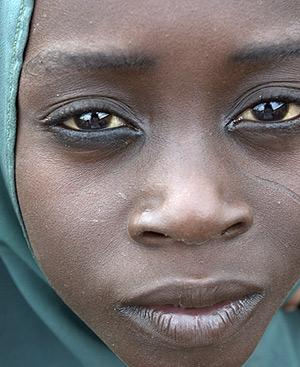 Las mujeres en Nigeria están expuestas a las redes de tráfico.
